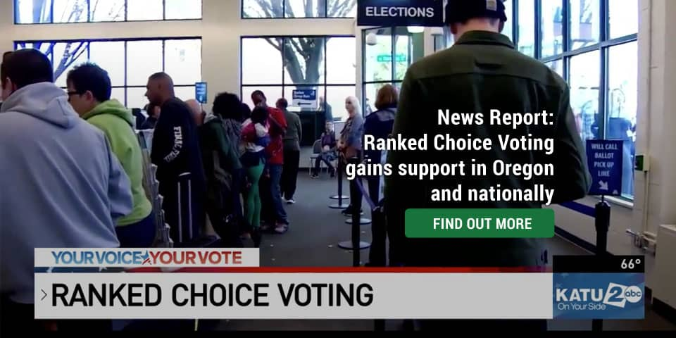 Ranked choice voting gaining in popularity and could become more widespread in Oregon